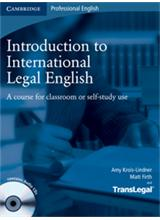 ntroduction to International Legal English