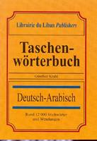 Pocket Dictionary Deutsch-Arabisch