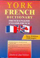 York French Dictionary (French-English-English-French)