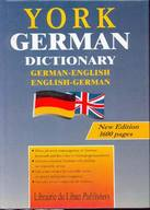 York German Dictionary (German-English-English-German)