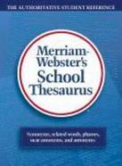 Webster`s School Thesaurus