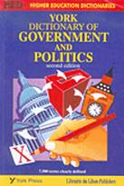 York Dictionary of Government and Politics