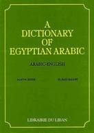A Dictionary of Egyptian Arabic Arabic - English