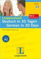 Langenscheidt Deutsch in 30 Tagen - German in 30 Days, m. Audio-CD