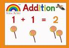The Rainbow Alphabet Addition Book