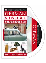 German Visual Phrase Book & CD